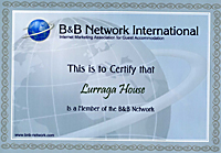 B and B network approved